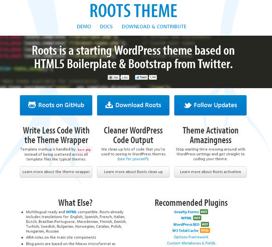 Roots Theme