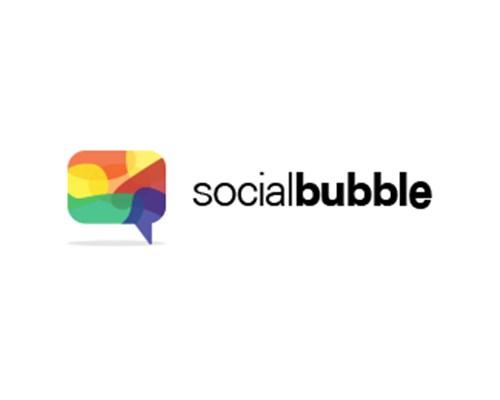 Social Bubble-logo-design