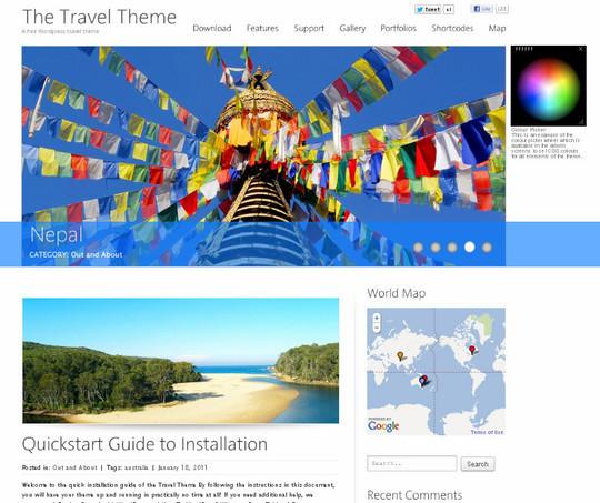 The Travel Theme