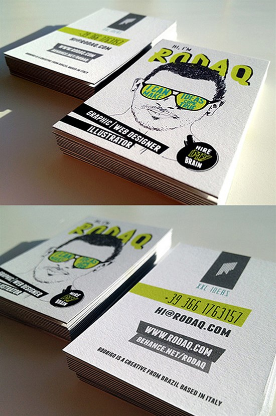 Uniquely-designed-Business-Card