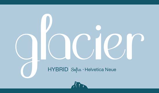 Hybrid Font