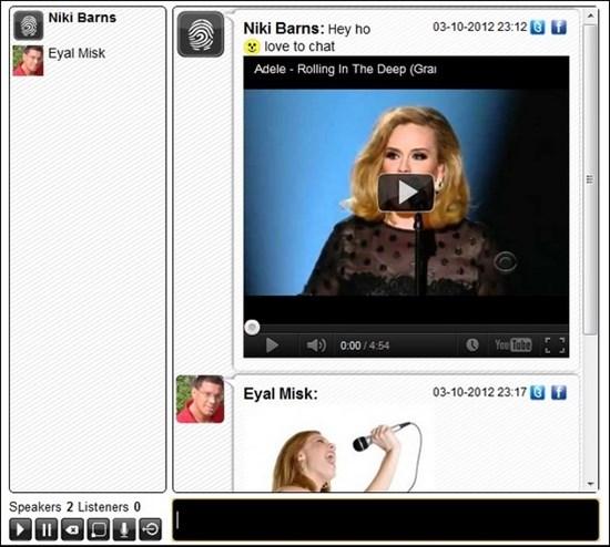 5. HTML 5 Online Chat Room Widget