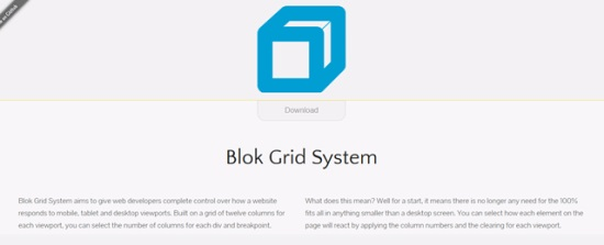 Blok Grid System