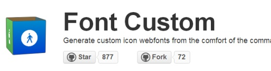 Bootstrap-Ready Font Custom