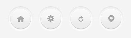 Crafting Minimal Circular 3D Buttons with CSS