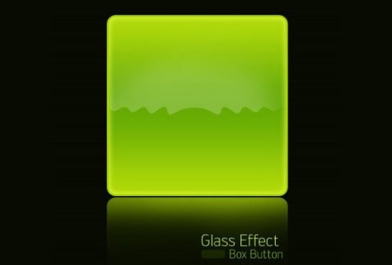 Create Glassy Button