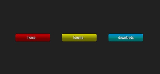 Create small Colourful Buttons in Photoshop