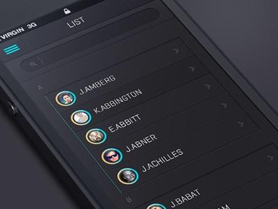 IOS Flat app design