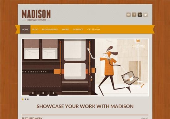 Madison Responsive Html5 Theme