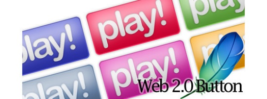 Web 2.0 Button in Photoshop
