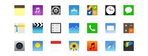 flat-ios-icons