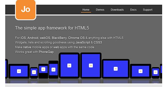 mobile-html5-framework