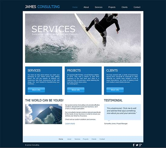 the-consultant-website-template