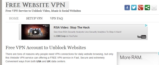 websitevpn