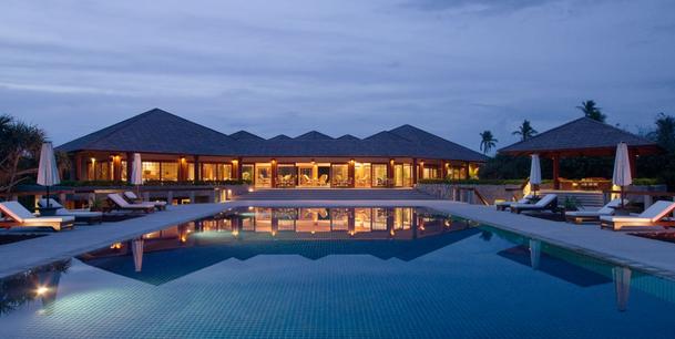 Amanpulo Resort of Phillippines