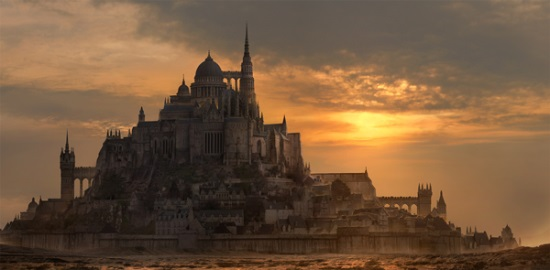 Create a Fantasy City Using Architectural Photographs