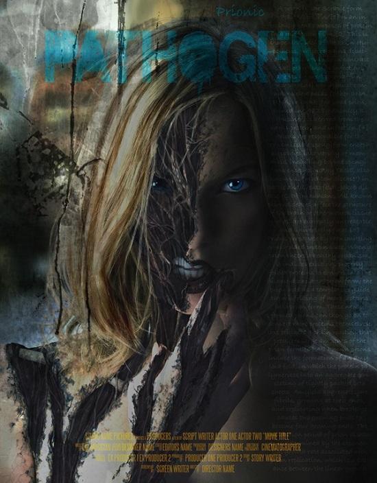 Create a Horrific Flesh Eating Movie Poster