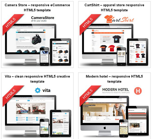 HTML5-Responsive-Twitter-Bootstrap-templates