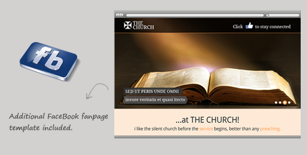 The chruch wordpress theme