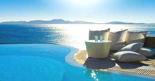 beach resort in Mykonos