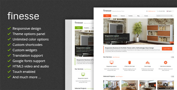 best responsive wordpress business themes 2013
