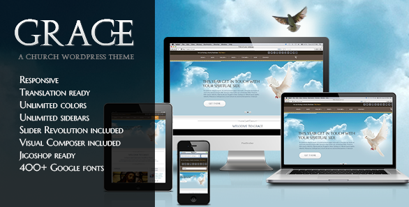 best responsive wordpress chruch themes 2013