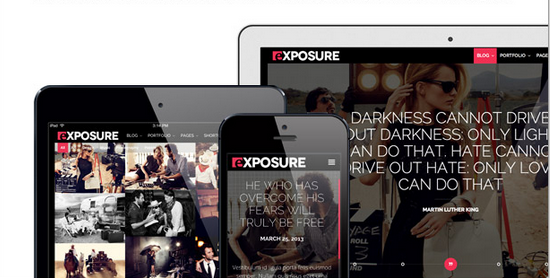 best responsive wordpress themes for photographers 2013