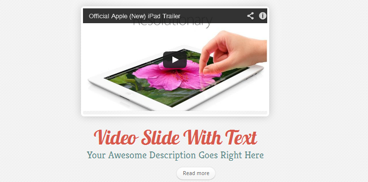 clean call to action wordpress theme