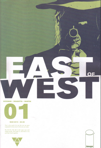 east of west comic book cover
