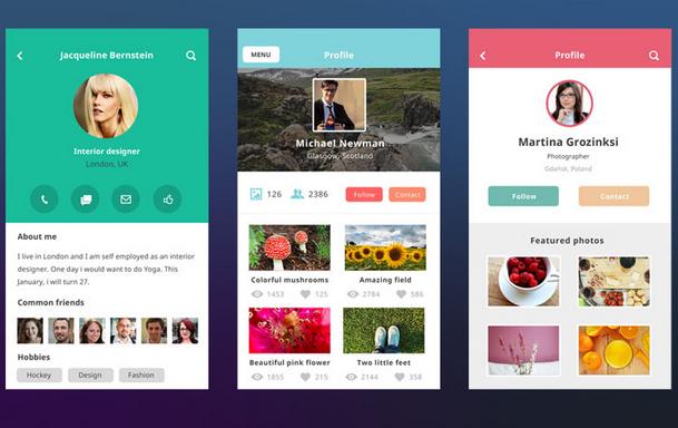 Business App Design Inspiration: 40 beautiful flat ui design inspirationrh:smashinghub.com,Design