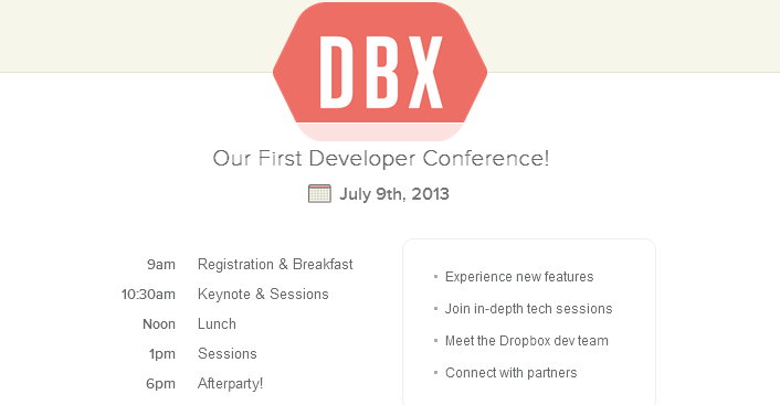 flat ui design inspiration for conference and events