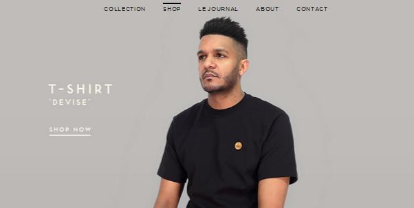 flat ui design inspiration for ecommerce stores