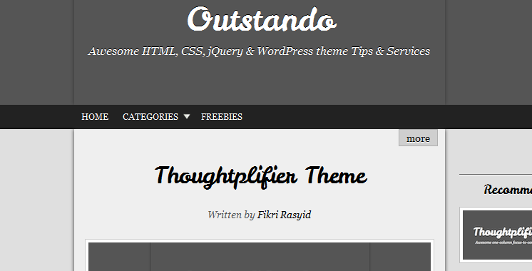 free beautiful typography wordpress themes