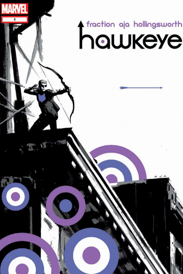 hawkeye comic book cover