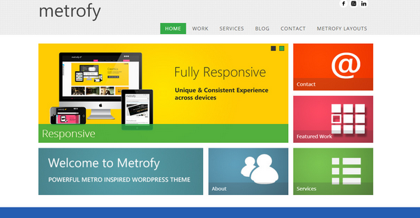 metory wordpress theme