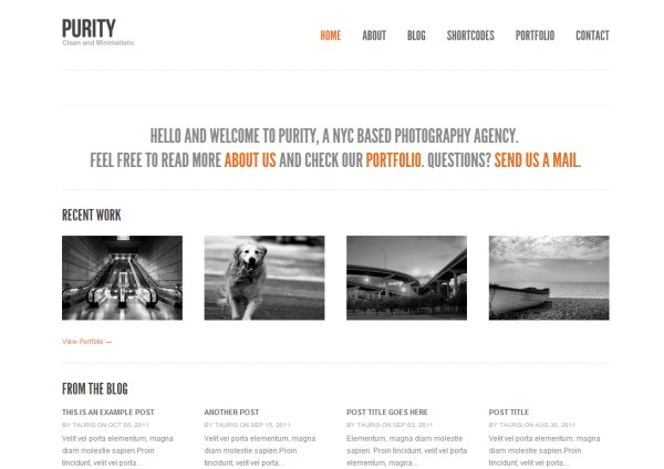 16 best minimal wordpress themes with responsive design reviewed ...