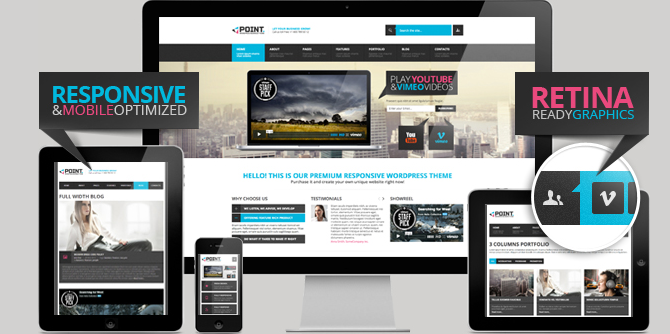 point reesponsive wordpress business theme