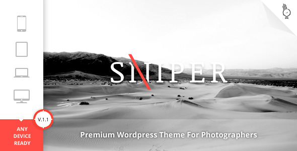 responsive wordpress themes for photographers 2013