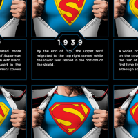superman cool infographic design 5