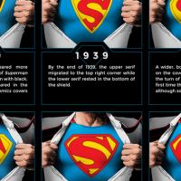 superman cool infographic design 5