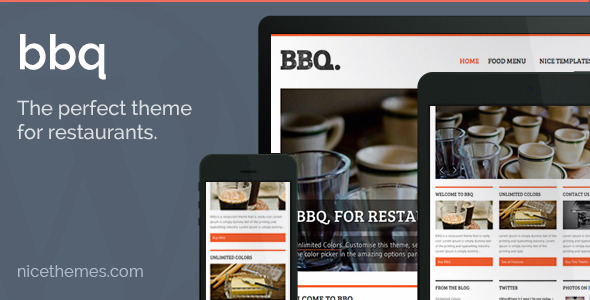 top responsive wordpress restaurant themes 2013
