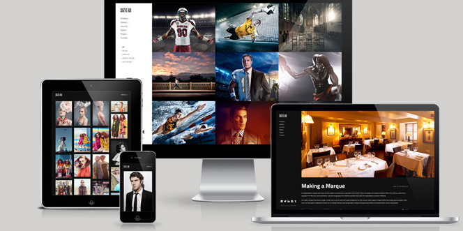 top responsive wordpress themes for photographers 2013
