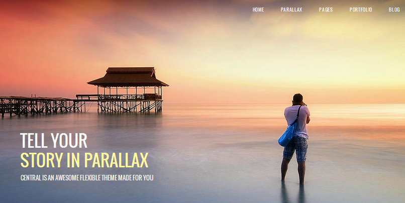 15 gorgeous full screen business wordpress theme for 2013