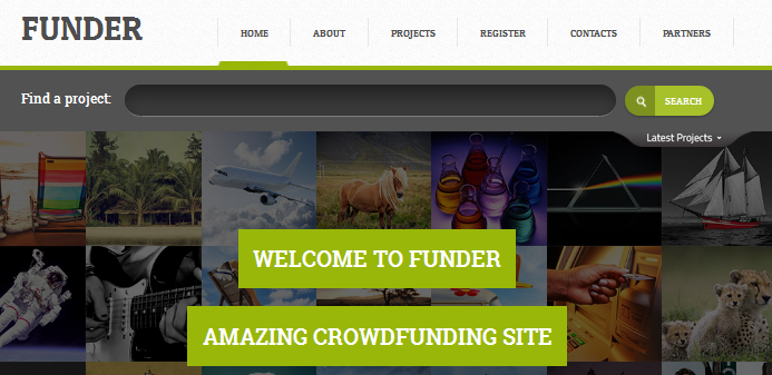 crowdfunding html web template