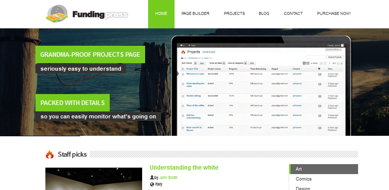 crowdfunding wordpress themes 3