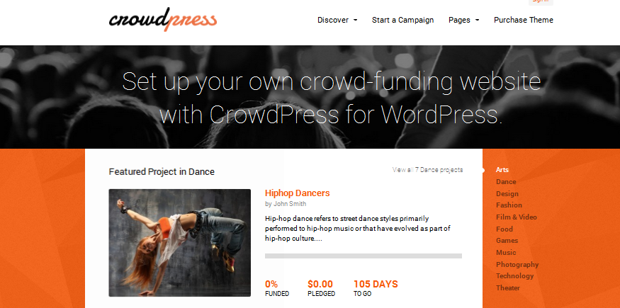 crowdfunding wordpress themes 4