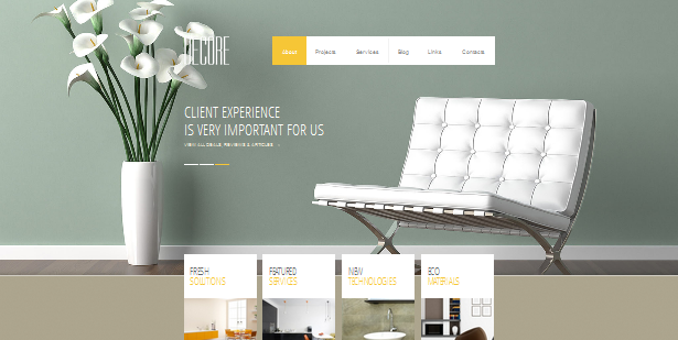 Top 14 Wordpress Themes For Interior Designers In 2013
