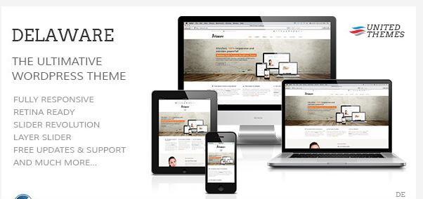 delaware retina responsive wordpress theme
