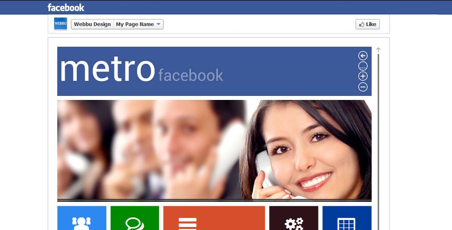 facebook metro style buddypress theme