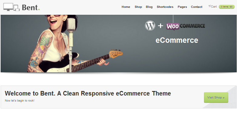 fixed header ecommerce wordpress theme